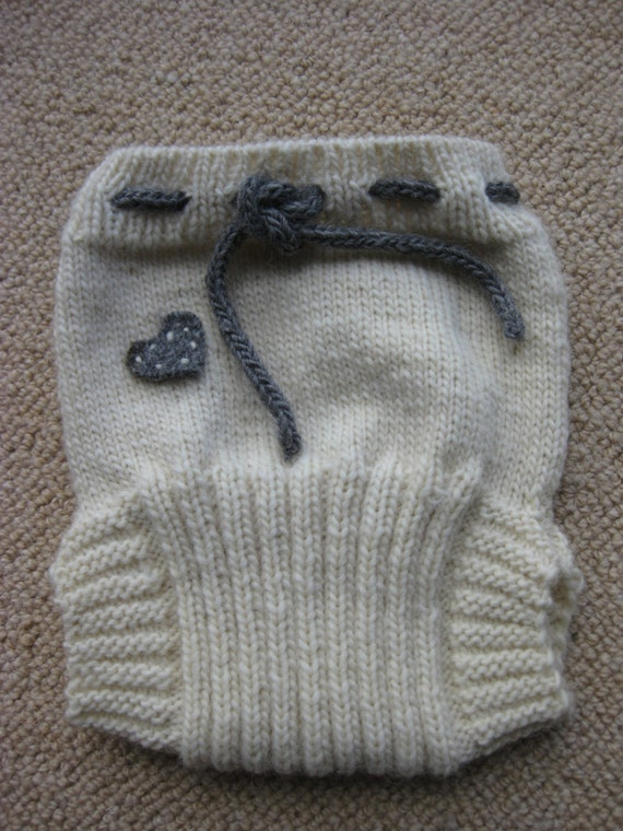 Wool Soaker / Diaper / Cover Knitting Pattern Instant Download PDF.