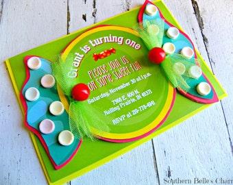 Candy Invitations...Set of 10 Invitations