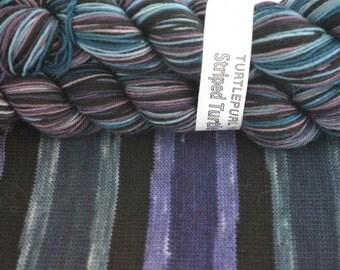 Twilight - Hand-dyed Self-striping sock yarn