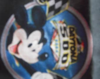 Mickey Mouse NASCAR Fabric
