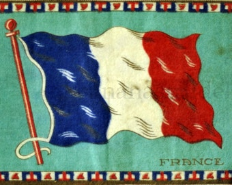 Ca. 1915 Small Vintage Flannel of France