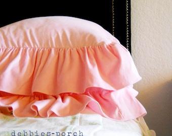 MIMI..SQUARE SHAM..1 sham..100% cotton velvet