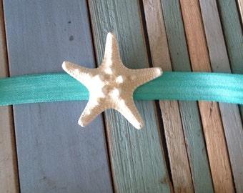 Beachy Knobby starfish headband