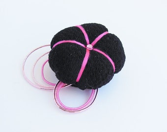 Goth Puff Sakura Brooch Pin