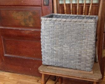 CLEARANCE - 15x11x14 Classic Gray Storage Basket