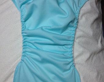 MamaBear BabyWear Waterproof Diaper Cover, Wrap One Size Fits All - Seaspray