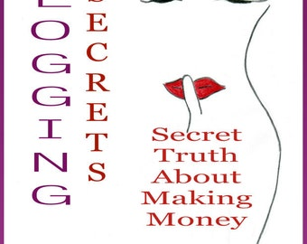 Blog-Secret Truth About Making Money Blogging-Blogging Secrets Book Series Book 1 for Etsy Sellers-Small Business