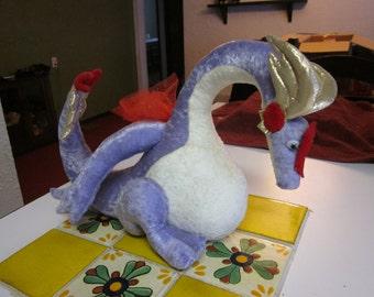 Dragon Plushie CUSTOM MADE You choose colors