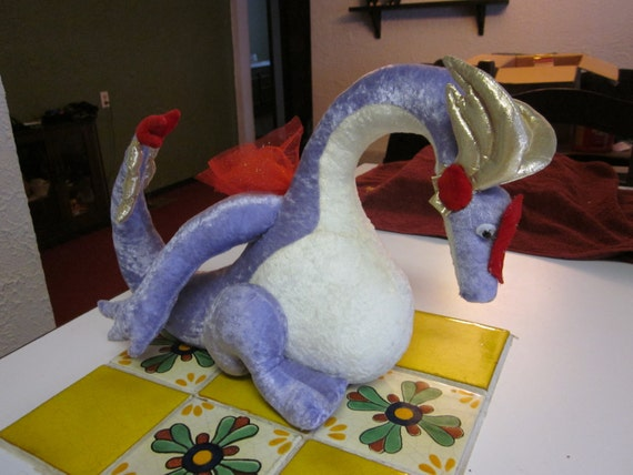 Dragon Plushie CUSTOM MADE You choose colors
