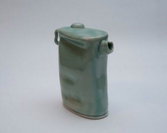 Celadon teapot