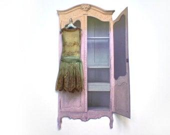 Miniature Handpainted Paper Dress --- Season's First Garden Party