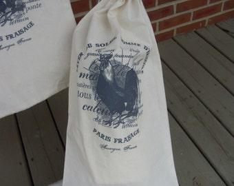Chicken Feed Sack, flour sack,   grain bag, chicken feed, French feed sack, Flour sack, feed bag, novelty bag, country decor, Feedsacklady