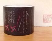 SALE - mt expo 2013 washi masking tape - blackboard
