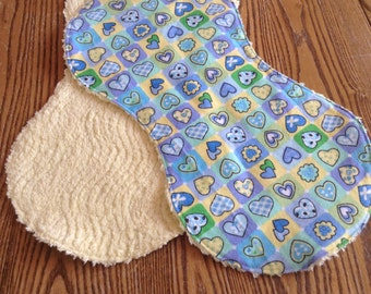 Flannel and Chenille Burp Cloths For Baby