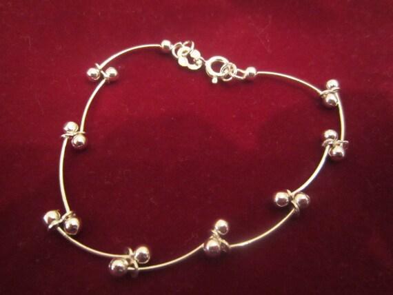 Delicate Silver IBB Bracelet