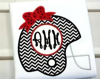 Machine Embroidery Design Applique Helmet Bow INSTANT DOWNLOAD
