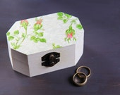 Wedding Ring Box, Pillow Alternative, Jewelry Box