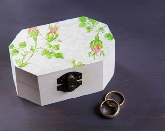 Wedding Ring Box, Pillow Alternative, Jewelry Box