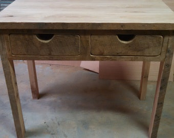 YOUR Custom Made Rustic Barn Wood Desk or Make up Cabinet Free Shipping-RWDMUC550F