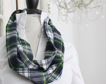 tartan plaid campbell flannel cowl