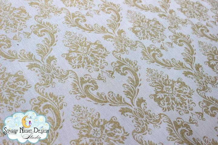 Aisle Runner Wedding Aisle Runner In Glitter Damask Print