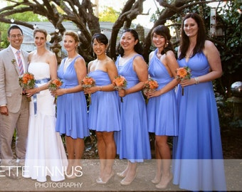 USA, Convertible Dresses for Bridesmaids /  Infinity Dress/  Bridemaids dresses