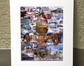 NOLA 16 x 20 Matted Print - New Orleans, LA
