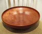 Large Shallow Cedar Burl Bowl