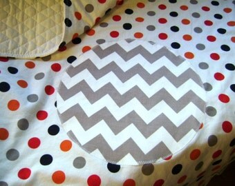 Ziggity Zaggity Dot Dot Dot - Baby / Toddler Quilt and Pillow Cover