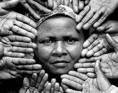 Africa Lady, Community Leader Kenya Portrait,  African Wall Art