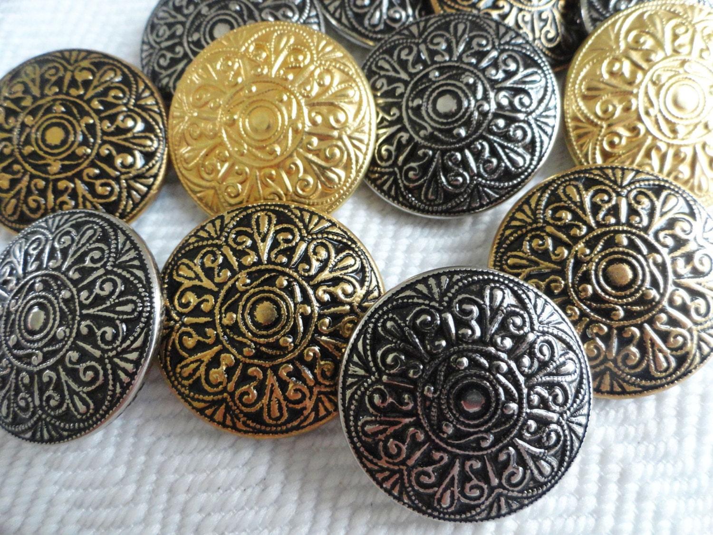 Vintage Coat Buttons 101