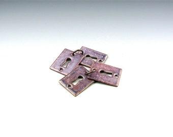 Enameled Key Hole  / Napa Enamel / Made to order