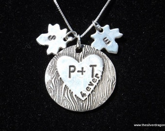 Personalized Family Tree necklace, Family Jewelry, Family Necklace, Personalized Mom Necklace, Initial Necklace, Mother's Day necklace. wife