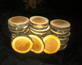 32 FABULOUS CHERRY WOOD Slices