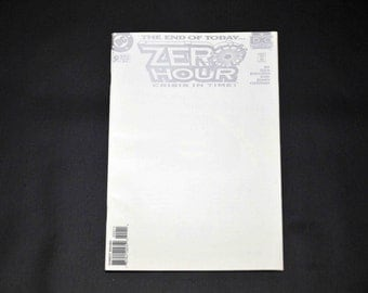 DC Comics Zero Hour, Crisis in Time No. 0 in Great Condition