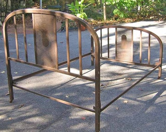 metal bed frame - Vintage Iron Bed Frames