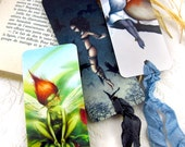 Illustrated bookmarks - You pick 3