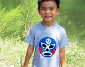 Luchador Azul - Blue Mexican Wrestler Toddler T-Shirt