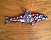 Pacific Northwest Style Orca ornament