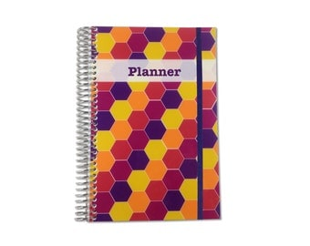 2017 Weekly Planner Organizer | 2017-2018 | Personalized Planner | Weekly Monthly Planner | Weekly Organizer | Agenda Planner