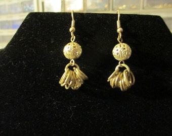 Earrings - Silver Filigree Dangle