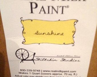 MILK PAINT Yellow Sunshine