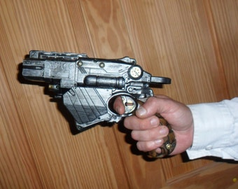 Steampunk Nerf Proton Pistol