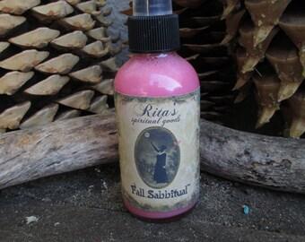 Rita's Fall Sabbitual™ Spiritual Mist Spray - Witchcraft, Hoodoo, Pagan, Magic, Juju