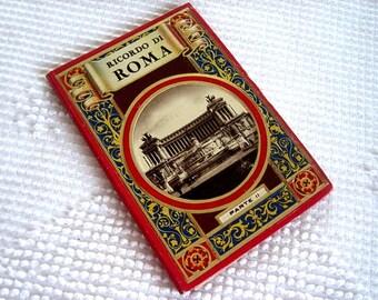 Vintage Post Card Set Landscape Cityscape People Souvenir Travel Nostalgic Art Panorama Vista Postcards ITALY ROME ROMA Part 2
