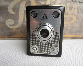Vintage Tower Model 7 Box Camera made in West Germany