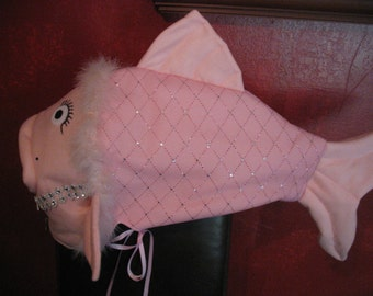 Pink Glamour Fish- one size fits all