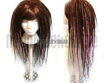 Custom dread wig - long synthetic dreadlock wig - Made to order