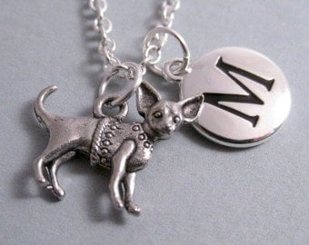 Chihuahua Charm Chihuahua Silver Plated Charm Dog Charm Supplies