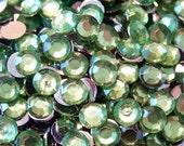1000 5mm Acrylic Round Crystal Rhinestones Flat Back SS20 N70-2 Peridot